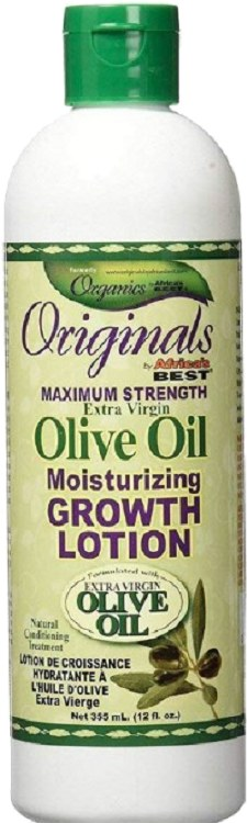 Africa's Best Originals Olive Oil Moisturizing Growth Lotion 12oz