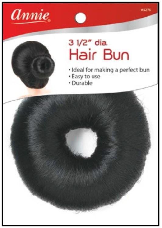 "Hair Bun Donut Type 3.5"", Synthetic Kinky #3273"