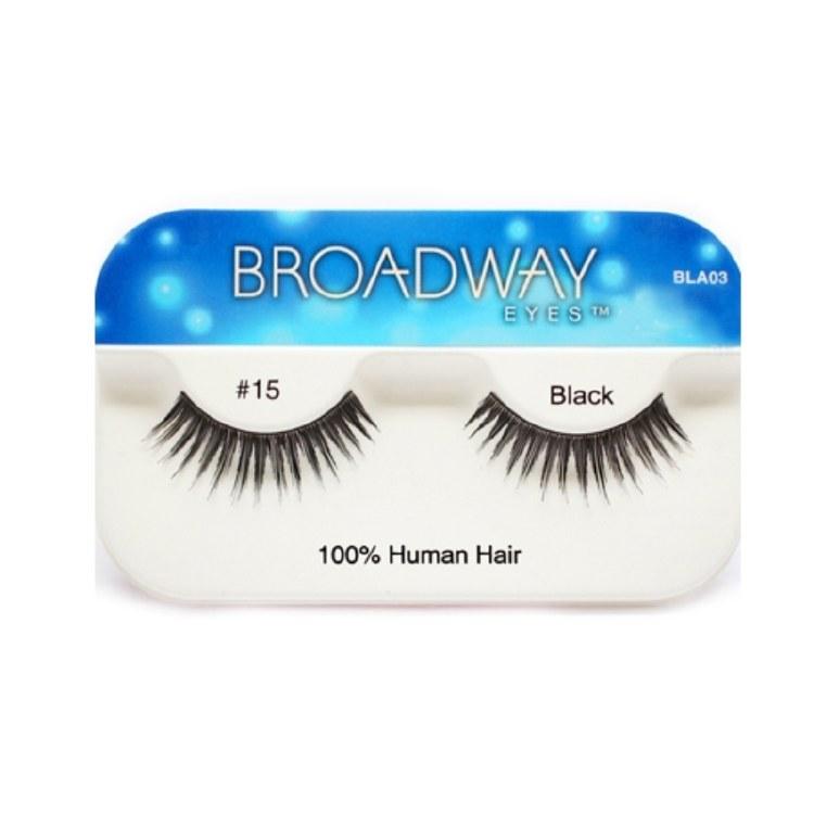Kiss Broadway Eyes Eyelashes #15, Black
