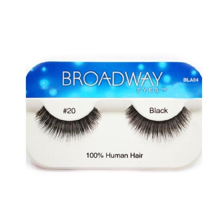 Kiss Broadway Eyes Eyelashes #20, Black