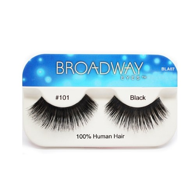 Kiss Broadway Eyes Eyelashes #101, Black