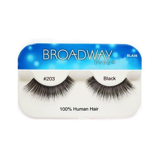 Kiss Broadway Eyes Eyelashes #203, Black