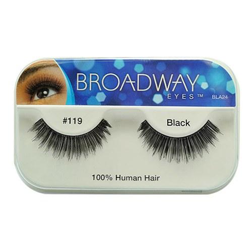 Kiss Broadway Eyes Eyelashes #119, Black