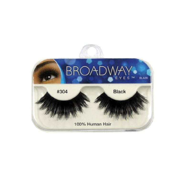 Kiss Broadway Eyes Eyelashes #304, Black