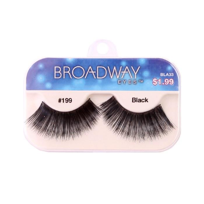 Kiss Broadway Eyes Eyelashes #199, Black