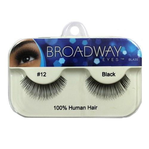 Kiss Broadway Eyes Eyelashes #12 Black