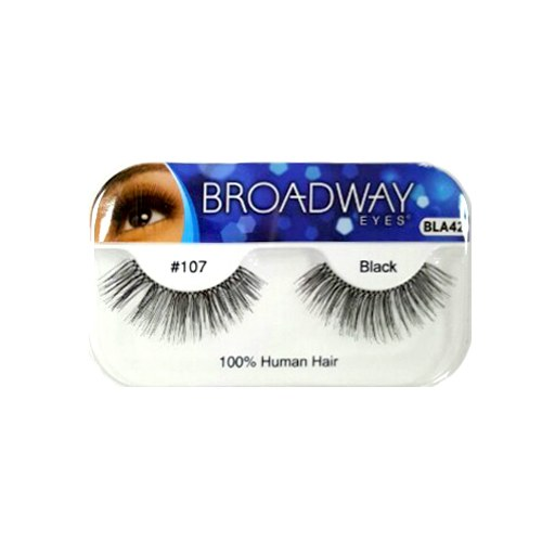 Kiss Broadway Eyes Eyelashes #107 Black