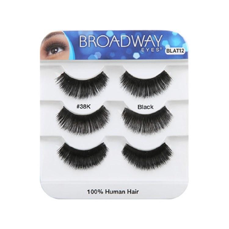 Kiss Broadway Eyes Eyelashes #38K, Black