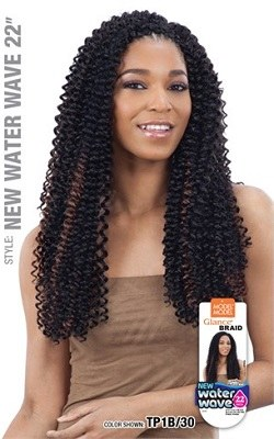 Glance Braid Water Wave 22 Inches