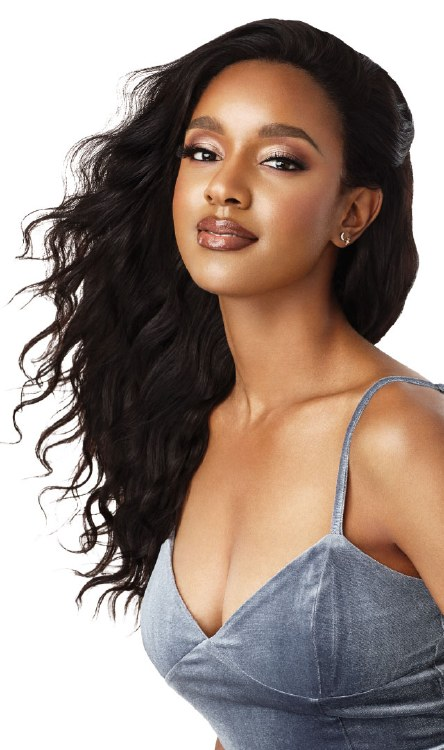 MyTresses Black Lable Lace Wig Natural Loose Body