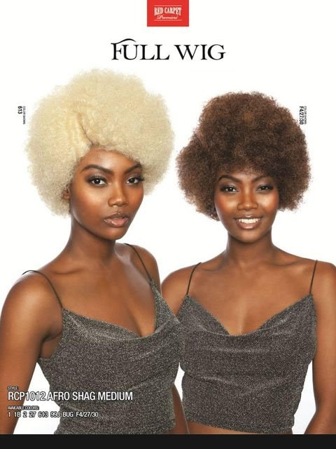 Red Carpet Afro Shag MD RCP1012