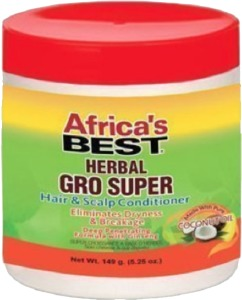 Africa's Best Herbal Gro Super Hair & Scalp Conditioner 5.25oz