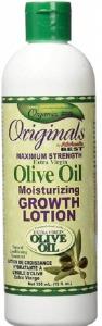Africa's Best Originals Olive Oil Moisturizing Growth Lotion 12oz