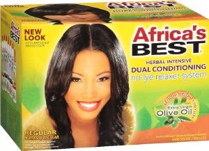Africa's Best No-Lye Relaxer Kit Regular Strength