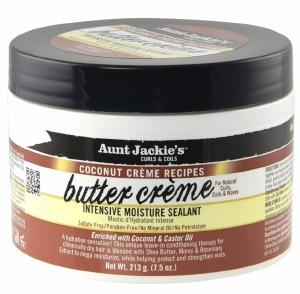 Aunt Jackie's Coconut Butter Creme Intensive Moisture Sealant 3oz