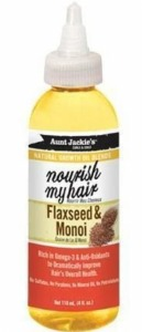 Aunt Jackie's Flaxseed and Monoi Oil 4oz