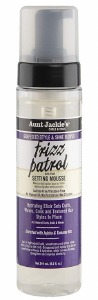 Aunt Jackie's Grapeseed Style Frizz Patrol Twist & Curl Setting Mousse 8.5oz
