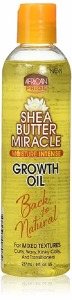 African Pride Shea Butter Miracle Growth Oil 6oz