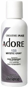 Adore Semi-Permanent Hair Color 158 Mystic Gray 4oz