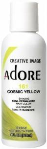 Adore Semi-Permanent Hair Color 161 Cosmic Yellow 4oz
