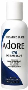 Adore Semi-Permanent Hair Color 176 Ocean Blue 4oz