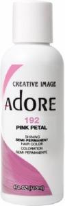 Adore Semi-Permanent Hair Color 192 Pink Petal 4oz