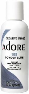 Adore Semi-Permanent Hair Color 198 Powder Blue 4oz