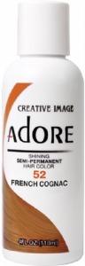 Adore Semi-Permanent Hair Color 052 French Cognac 4oz