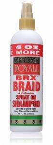 African Royale BRX Braid Spray-On Shampoo 12oz