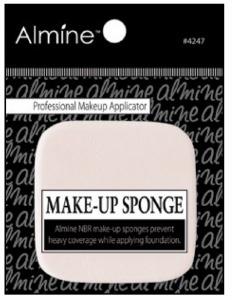 NBR Makeup Sponge 5.0 x 5.0 x 0.8cm, Square Shape #4247