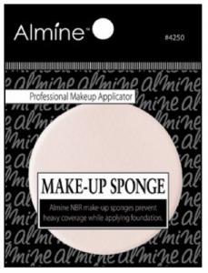 NBR Makeup Sponge 5.2 x 5.2 x 0.8cm, Round Shape #4250