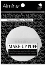 Round Makeup Puff 7.5 x 7.5 x 1.1cm, Cotton Material #4253