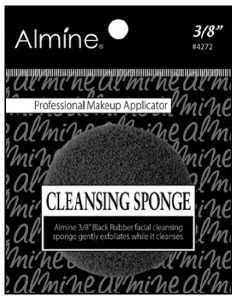 "Cleansing Sponge 3/8"", Black #4272"