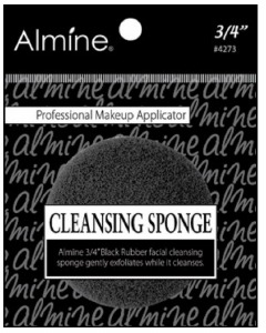 "Cleansing Sponge 3/4"", Black #4273"