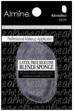 Silicone Blendi Sponge Clear Rhombus Latex Free #4274