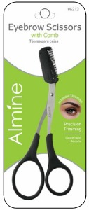 Brow Scissor with Comb #6213