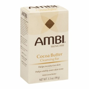 Ambi Cocoa Butter Cleansing Bar Soap 3.5oz