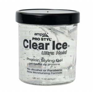 Ampro Pro Styl Clear Ice Protein Styling Gel Ultra Hold 15oz