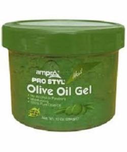 Ampro Olive Oil Hair Gel 10oz