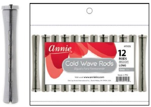 Cold Wave Rod Long 12ct, Gray #1105