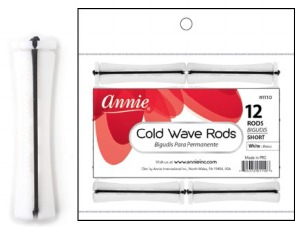 Cold Wave Rod Short 12ct, White #1110