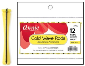 Cold Wave Rod Short 12ct, Yellow #1114