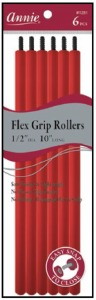 "Flex Grip Rollers 1/2"" Diameter 10"" Long 6ct, Red #1281"