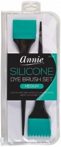 Silicone Dye Brushes Medium, Teal #2962
