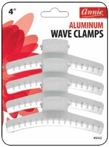 "Aluminum Wave Clamps 4"" #3142"