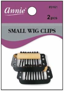 Wig Clips Small Black #3161