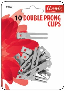 Double Prong Clips #3172