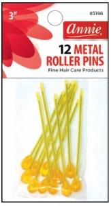 "Metal Roller Pins 3"" #3198"