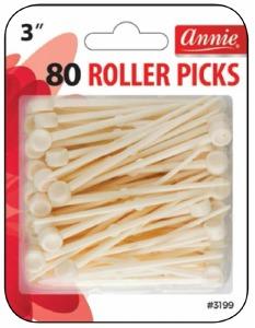 """Plastic Roller Picks 3"""" #3199"""