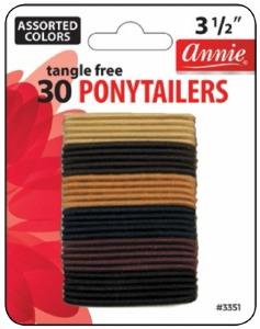 Tangle Free Ponytailer 30ct #3351